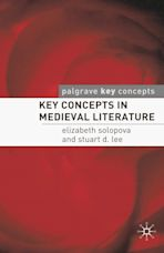 Key Concepts in Medieval Literature cover