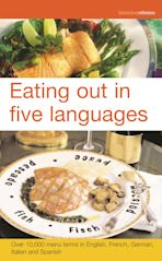 Eating out in five languages cover