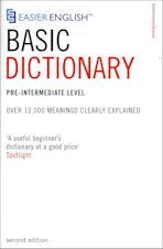 Easier English Basic Dictionary cover