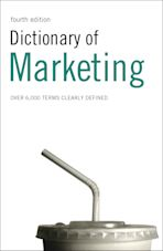 Dictionary of Marketing cover