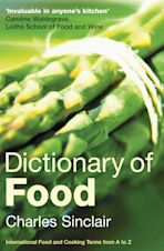 Dictionary of Food cover