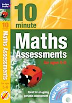 Ten Minute Maths Assessments ages 5-6 (plus CD-ROM) cover
