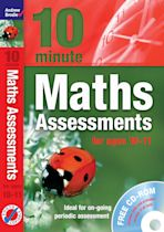 Ten Minute Maths Assessments ages 10-11 (plus CD-ROM) cover
