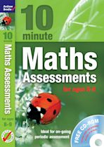 Ten Minute Maths Assessments ages 8-9 (plus CD-ROM) cover