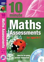 Ten Minute Maths Assessments ages 6-7 (plus CD-ROM) cover