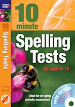 Ten Minute Spelling Tests for ages 9-10 cover