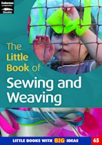 The Little Book of Sewing and Weaving cover