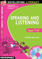 Speaking and Listening: Ages 7-8 cover