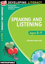Speaking and Listening: Ages 8-9 cover