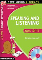 Speaking and Listening: Ages 10-11 cover