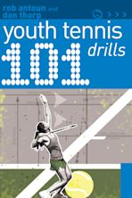 101 Youth Tennis Drills cover
