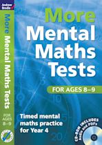 More Mental Maths Tests for ages 8-9 cover