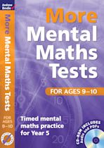 More Mental Maths Tests for ages 9-10 cover