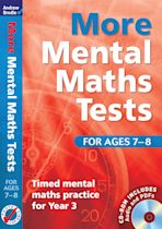 More Mental Maths Tests for ages 7-8 cover