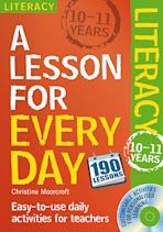 Lesson for Every Day: Literacy Ages 10-11 cover
