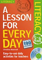 Lesson for Every Day: Literacy Ages 5-6 cover
