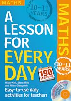 Lesson for Every Day: Maths Ages 10-11 cover