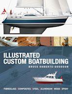 Illustrated Custom Boatbuilding cover
