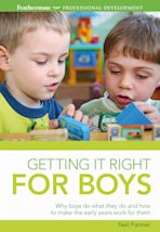 Getting it Right for Boys cover