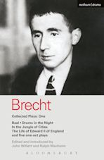 Brecht Collected Plays: 1 cover