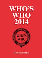 Who's Who 2014 cover
