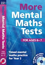 More Mental Maths Tests for ages 6-7 cover