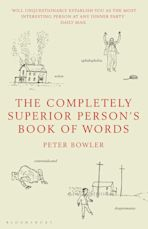 The Completely Superior Person's Book of Words cover