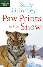 Paw Prints in the Snow cover