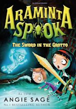 Araminta Spook: The Sword in the Grotto cover