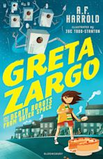 Greta Zargo and the Death Robots from Outer Space cover