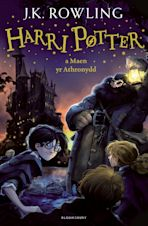 Harry Potter and the Philosopher's Stone (Welsh) cover