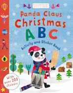 Panda Claus Christmas ABC Activity and Sticker Book cover