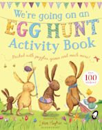 We're Going on an Egg Hunt Activity Book cover