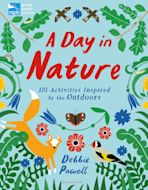 RSPB: A Day in Nature cover