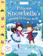 Princess Snowbelle's Dressing-Up Sticker Book cover