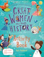Fantastically Great Women Who Made History Activity Book cover