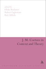 J. M. Coetzee in Context and Theory cover