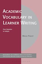 Academic Vocabulary in Learner Writing cover