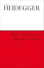 Basic Problems of Phenomenology cover