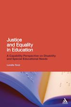 Justice and Equality in Education cover