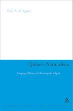 Quine's Naturalism cover