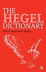 The Hegel Dictionary cover