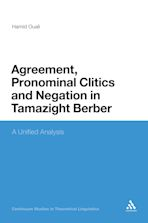 Agreement, Pronominal Clitics and Negation in Tamazight Berber cover