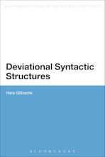 Deviational Syntactic Structures cover