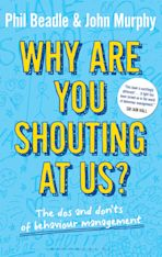 Why are you shouting at us? cover