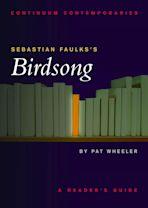 Sebastian Faulks's Birdsong cover