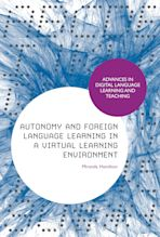 Autonomy and Foreign Language Learning in a Virtual Learning Environment cover