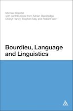 Bourdieu, Language and Linguistics cover