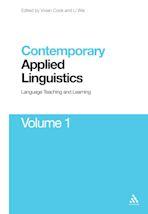 Contemporary Applied Linguistics Volume 1 cover