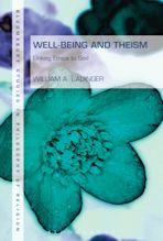 Well-Being and Theism cover